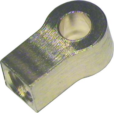 Zylinder Endstück Bohrung 2,0 mm