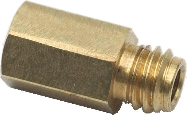 Einschraubverlängerung M3 auf M3 Kopf 5 mm